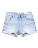 Mayoral Girl's Sand Wash Denim Shorts