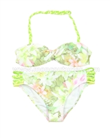 Mayoral Girl's Bikini Set Lime