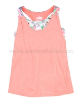Mayoral Girl's Layered Look Sport Tank