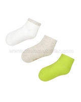 Mayoral Girl's Short Socks Set Gray/Lime