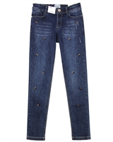 Mayoral Junior Girl's Denim Pants with Jewels