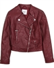 Mayoral Junior Girl's Burgundy Pleather Jacket
