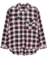 Mayoral Junior Girl's Plaid Shirt