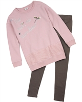 Mayoral Junior Girl's Terry Tunic and Leggings Set