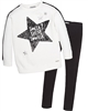 Mayoral Junior Girl's Sweatshirt with Star and Leggings Set