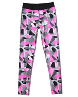 Mayoral Junior Girl's Sport Leggings in Geometric Print
