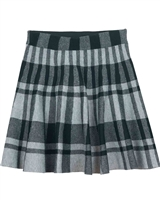 Mayoral Junior Girl's Plaid Knit Skirt