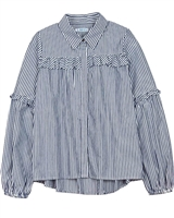 Mayoral Junior Girl's Striped Shirt with Lurex