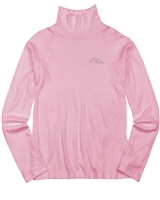 Mayoral Junior Girl's Rib Jersey Turtleneck in Pink