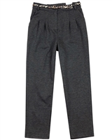 Mayoral Junior Girl's Ponte Knit Pants with Belt
