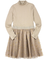 Mayoral Junior Girl's Rib Knit and Tulle Dress