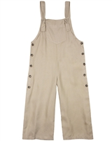 Mayoral Junior Girl's Loose Fit Tencel Overalls