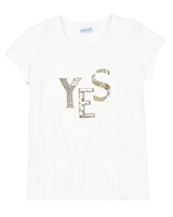 Mayoral Junior Girl's T-shirt with Sequin Applique