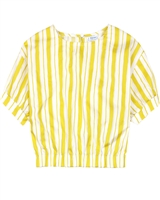Mayoral Junior Girl's Striped Bubble Blouse