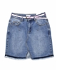 Mayoral Junior Girl's Denim Skirt with Belt