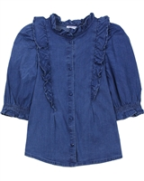 Mayoral Junior Girl's Chambray Blouse