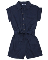 Mayoral Junior Girl's Tencel Shirt Romper