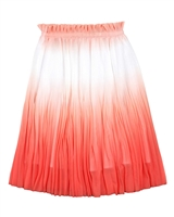 Mayoral Junior Girl's Plisse Skirt in Ombre Look
