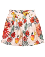 Mayoral Junior Girl's Wide Leg Printed Shorts