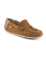MAYORAL Boys Suede Moccasins in Camel