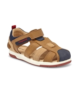 MAYORAL Boys Leather Fisherman Sandals