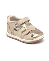 MAYORAL Baby Girls' First Step Leather Heart Sandals