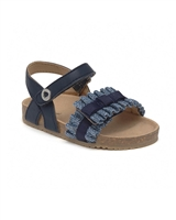 MAYORAL Baby Girls Sandals with Ruffles in Navy