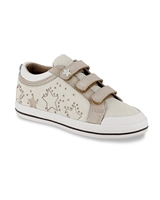 MAYORAL Girls Sneakers with Stars in Natural