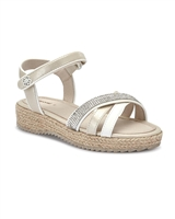 MAYORAL Girls Rope Wedge Sandals