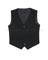 Mavezzano Suit Vest Black
