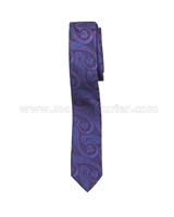 Mavezzano Boys Tie in Purple
