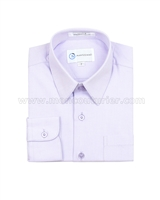 Mavezzano Dress Shirt in Lavender