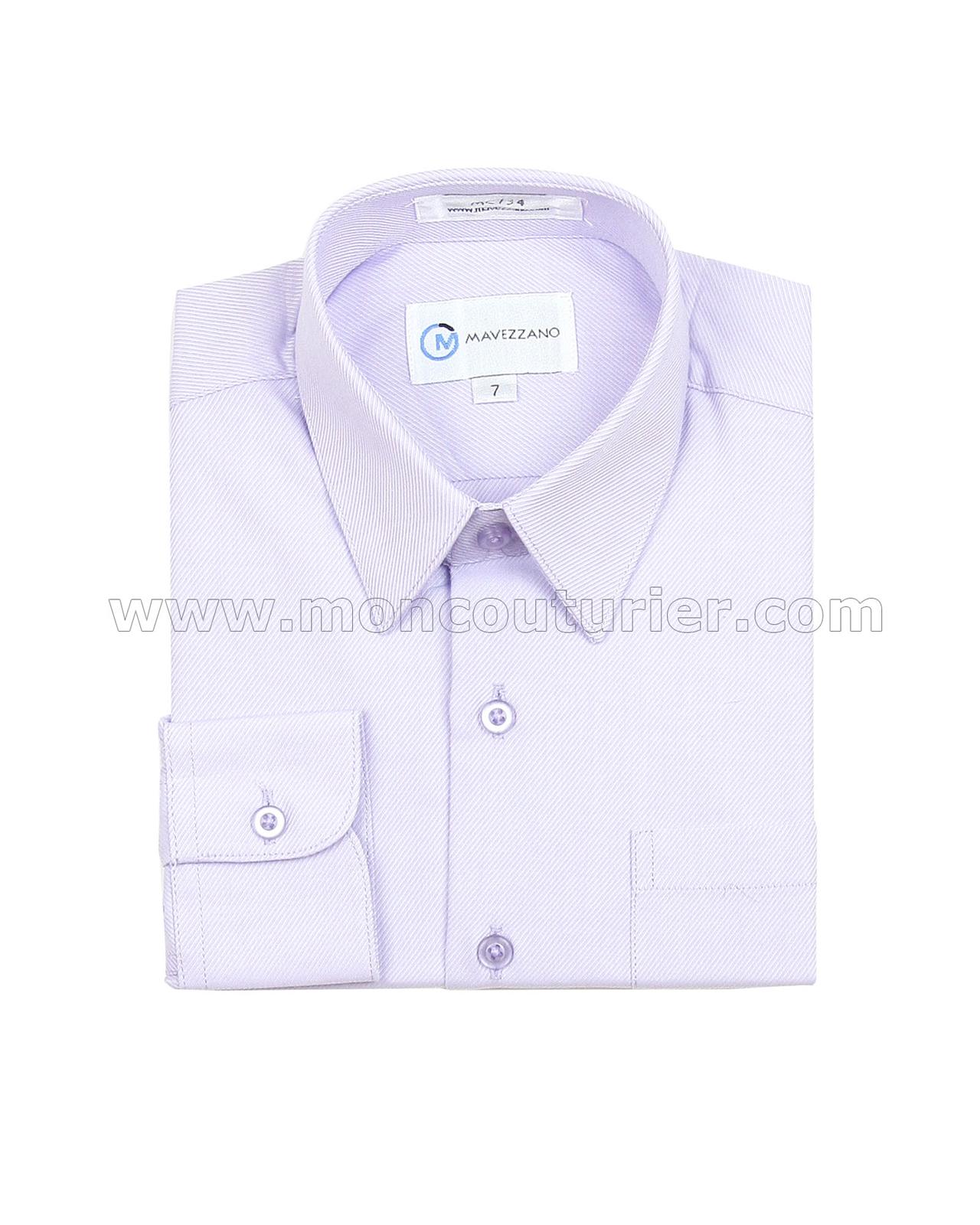Mavezzano Dress Shirt In Lavender