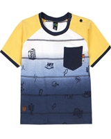 Nano Baby Boys T-shirt in Ombre Look