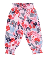 Nano Baby Girls Jersey Pants in Floral Print