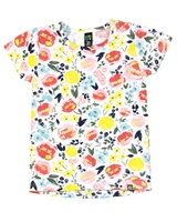 Nano Baby Girls T-shirt in Floral Print