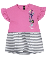 Nano Baby Girls Tunic with Flounce Sleeves