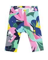 Nano Baby Girls Leggings in Abstract Print