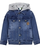 Nano Boys Hooded Jogg Jean Jacket