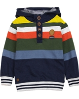 Nano Boys Multi-colour Striped Hoodie