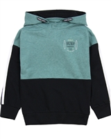 Nano Boys Hooded Colour-Block Sweatshirt