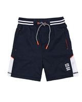 Nano Boys Athletic Shorts with Mesh Inserts
