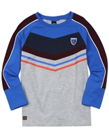 Nano Boys T-shirt with Colour-block Sleeves