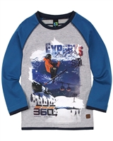 Nano Boys T-shirt with Skier Graphic