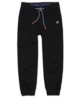 Nano Boys Twill Jogger Pants in Black