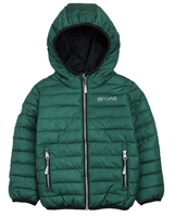 Nano Boys Transitional Quilted Jacket in Green