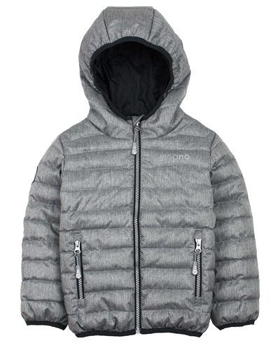 Nano Boys Transitional Quilted Jacket in Grey