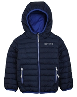 Nano Boys Transitional Quilted Jacket in Navy