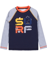 Nano Boys Colour-block Long Sleeve Rashguard