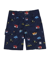 Nano Boys Boardshorts in Cars Print